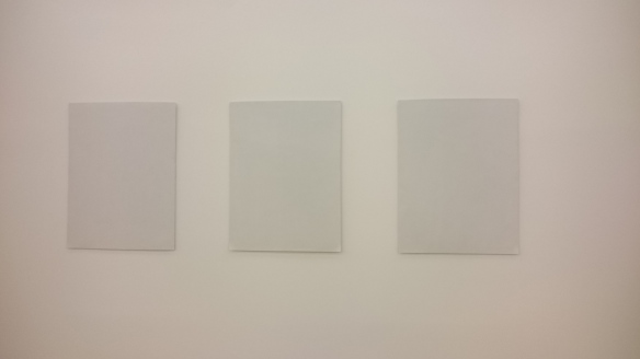 Picture of Three Blank Canvases
